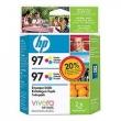 CARTUCHO HP C9363WL (97) TWIN PACK