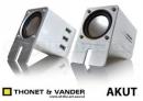 PARLANTES THONET & VANDER AKUT - USB / PORTATIL