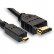 CABLE MICRO HDMI / HDMI M-M  1.8 MTS