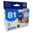 CARTUCHO EPSON T81 C
