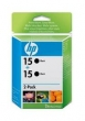 CARTUCHO HP C6615D TWIN PACK