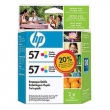 CARTUCHO HP C6657A TWIN PACK
