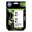 CARTUCHO HP C8765WL (94) TWIN PACK