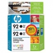 CARTUCHO HP C9362A (92) TWIN PACK