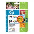 CARTUCHO HP C9363WL (97) TWIN PACK