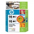 CARTUCHO HP C93634WL (98) TWIN PACK