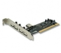 PLACA PCI  4 PUERTOS USB 2.0 ENCORE