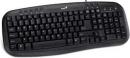 TECLADO GENIUS MULTIMEDIA KB-M200 - USB