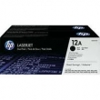TONER HP Q2612AD TWIN PACK NEGRO