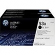 TONER HP Q7553XD TWIN PACK NEGRO
