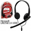 AURICULARES C/MIC MICROSOFT LIFE CHAT LX-1000