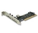 PLACA PCI  4 PUERTOS USB 2.0 ENCORE