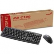 TECLADO + MOUSE GENIUS BASIC KB-C100 - PS/2